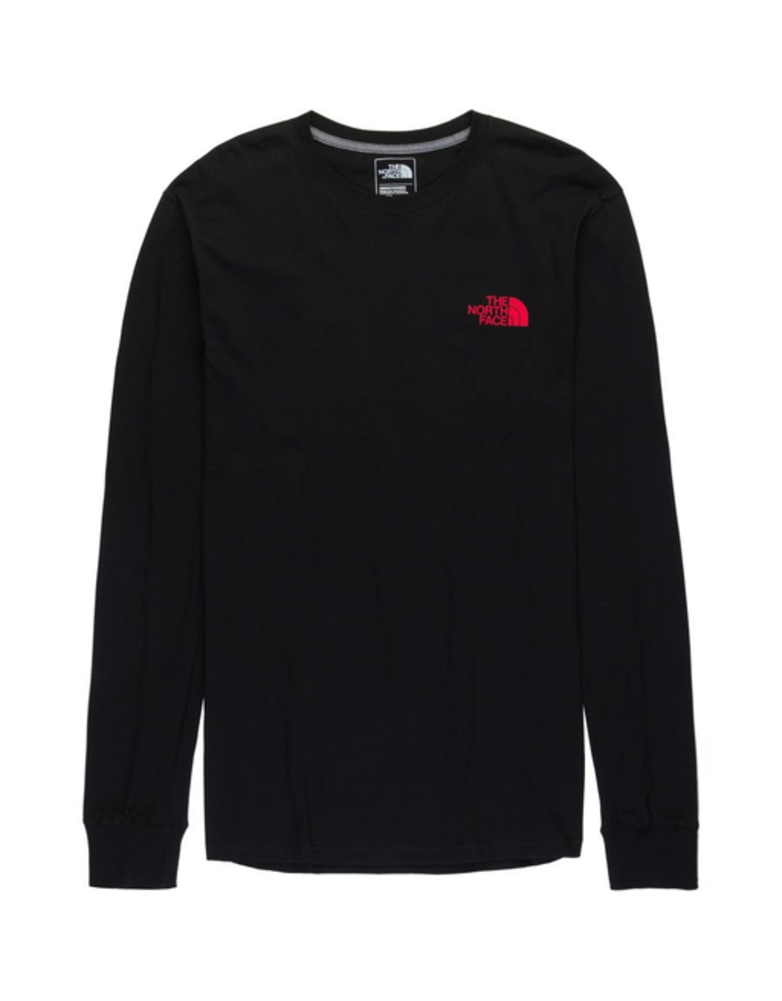 North Face North Face Men's Long Sleeve Red Box Tee