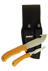 Ruko Ruko Skinning Knife set, Blaze Orange handle