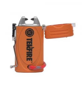 Ultimate Survival Technologies Ultimate Survival Tekfire Pro Fuel-Free Lighter- Orange