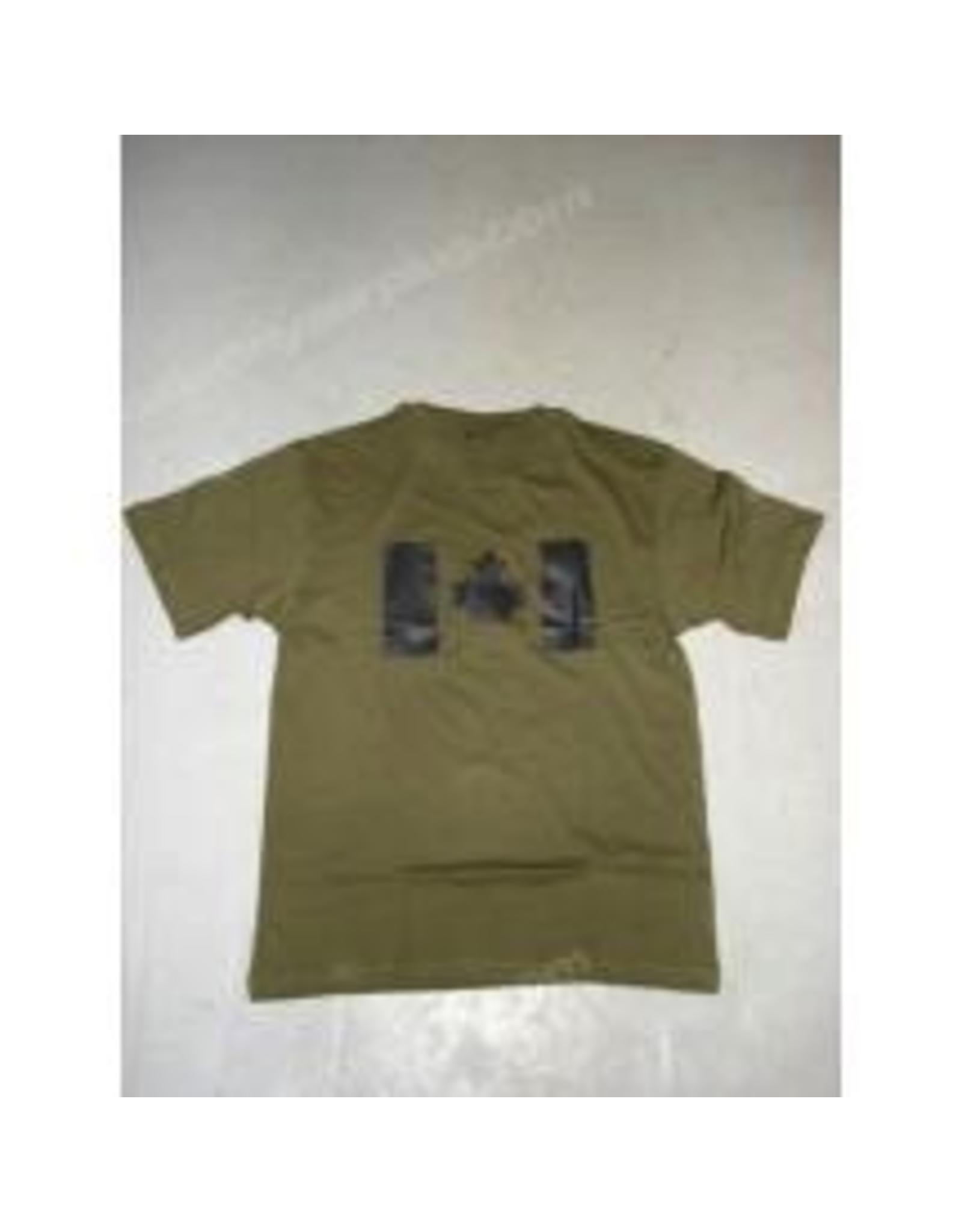 Olive Drab T-Shirt with Canadian Flag