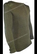 Olive Drab Wool Sweater