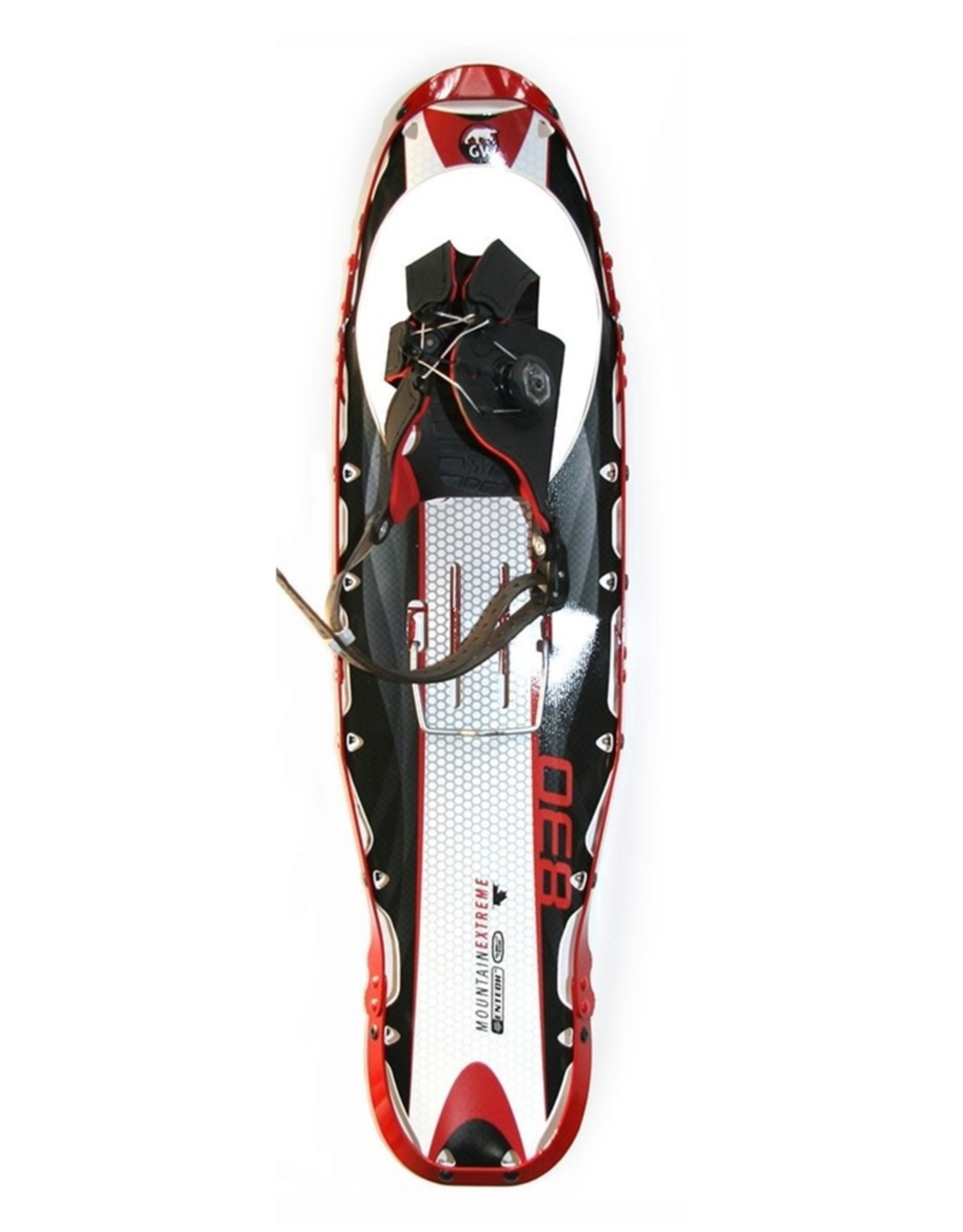 GV Snowshoes GV Mountain Extreme Spin Snowshoe Red 8x25