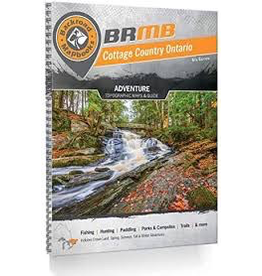 Backroad Mapbooks Backroad Mapbook - Cottage Country Ontario