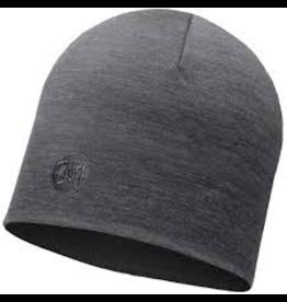 BUFF BUFF Heavyweight Merino Wool Hat Solid Grey