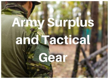 Army Surplus and Tactical Gear