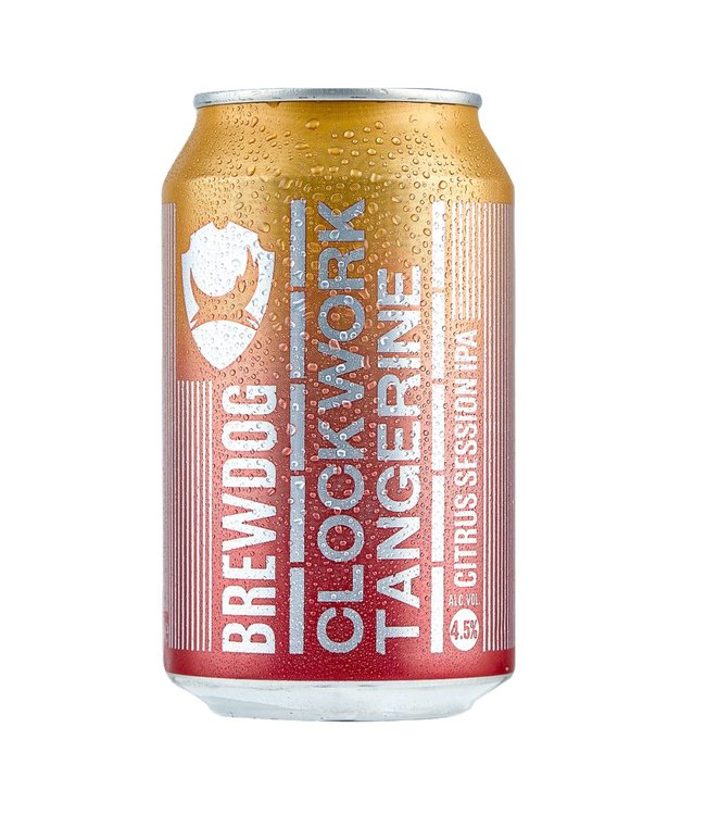 BrewDog BrewDog Clockwork Tangerine IPA 330ml Cans