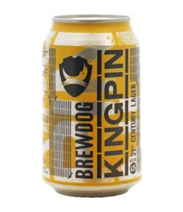 BrewDog BrewDog Kingpin Lager 330ml