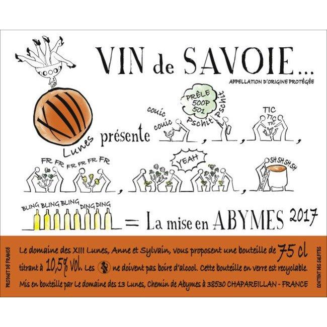 Domaine des XIII Lunes Vin de Savoie La Mise en Abymes 2017