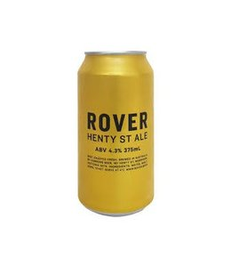 Hawkers Rover Henty St Ale 375ml Can
