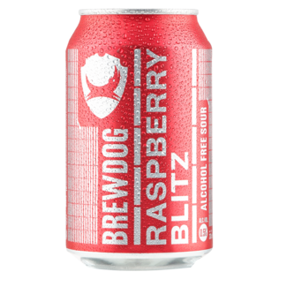 BrewDog Brewdog Raspberry Blitz Alcohol Free Sour 330ml