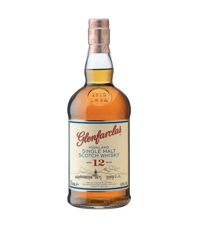 Glenfarclas 12yo Single Malt Whiskey 1000ml