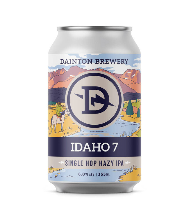 Dainton Dainton Idaho 7 Hazy IPA 355ml Can