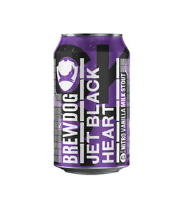Brewdog Jet Black Heart Nitro Milk Stout 330ml
