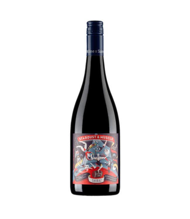 Wine by Sam Stardust & Muscle Shiraz 2018