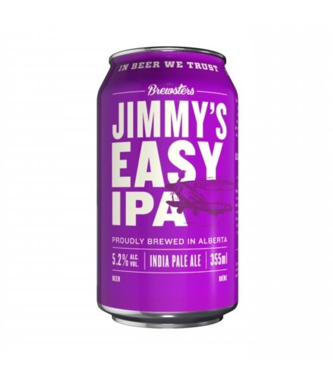 Brewsters Jimmys Easy IPA 355ml