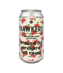 Hawkers Hawkers Around the Orchard We Roam Peaches and Cream Sour 375ml Can