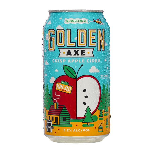 Kaiju Golden Axe Apple Cider 375ml Can