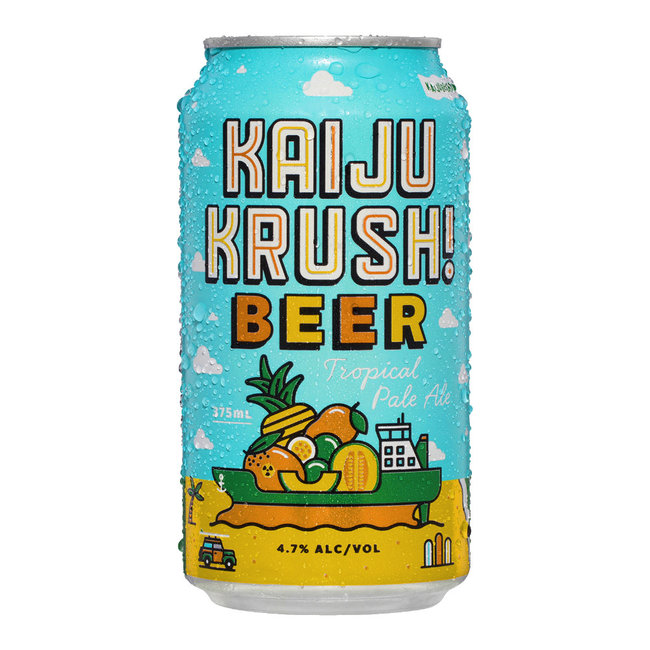 Kaiju Krush Tropical Pale Ale 375ml Can