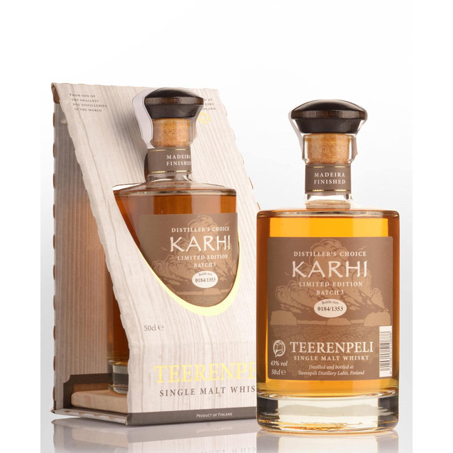 Teerenpeli Karhi Single Malt Finland Whisky