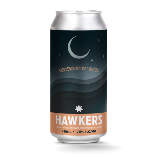 Hawkers Hawkers Dreaming of Oats Hazy IPA 440ml