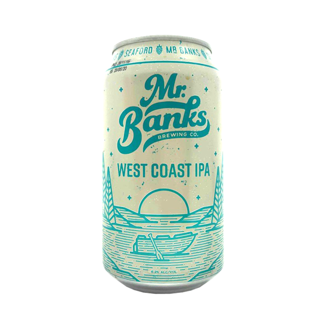 Mr Banks West Coast IPA 355ml Can