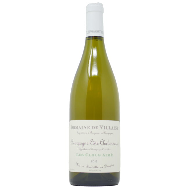 de Villaine Bourgogne Blanc 'Les Clous Aimee' 2018