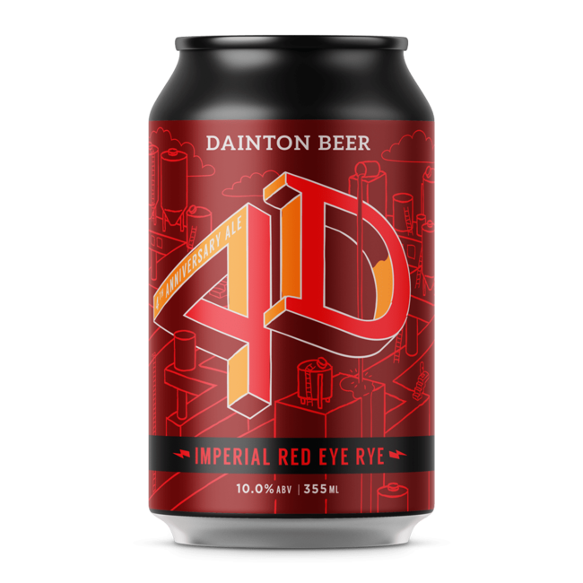Dainton Dainton 4D Imperial Red Eye Rye 355ml