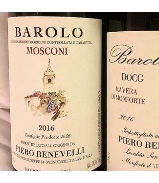 Benevelli Piero Benevelli Piero Mosconi Barolo 2016