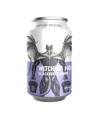 Aether Brewing Witching Hour Blackberry Sour 375ml Can