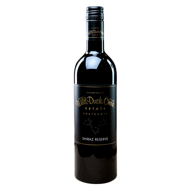 Wild Duck Creek Estate Wild Duck Creek Reserve Shiraz 2018 375ml