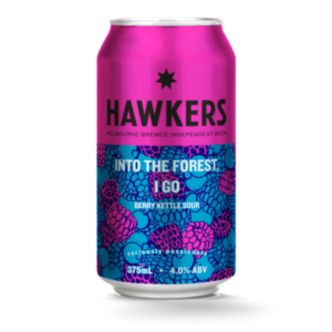 Hawkers Hawkers Into the Forest I Go Berry Kettle Sour Can
