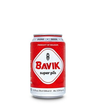 Bavik Super Pils 330ml Can