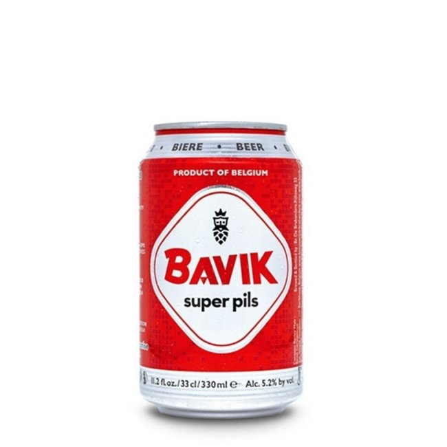 Bavik Super Pils 330ml Can