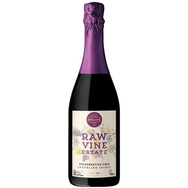 Raw Vine Sparkling Shiraz 2020