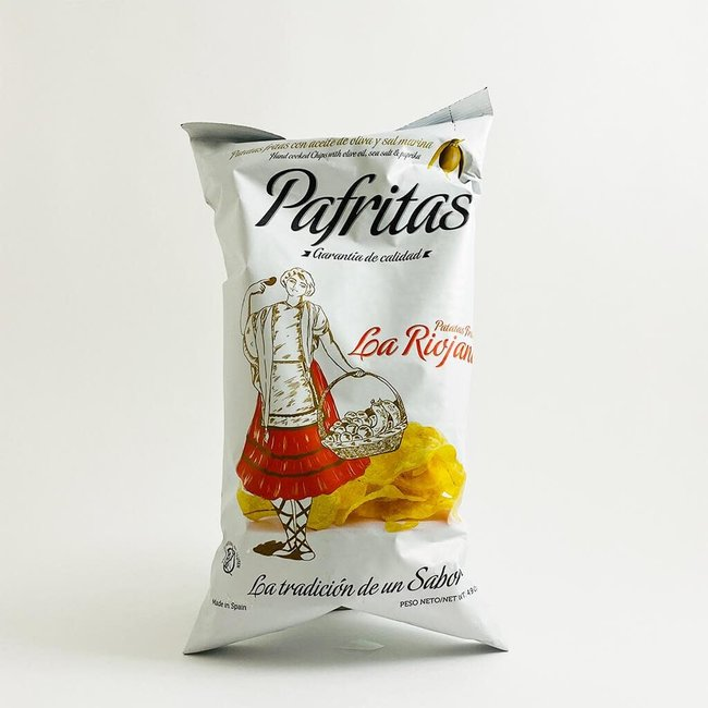 Pafritas 'Espelette' Unsmoked Paprika Chips 140g