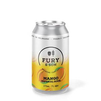 Fury & Son Fury & Son Mango Imperial Sour 375ml Can