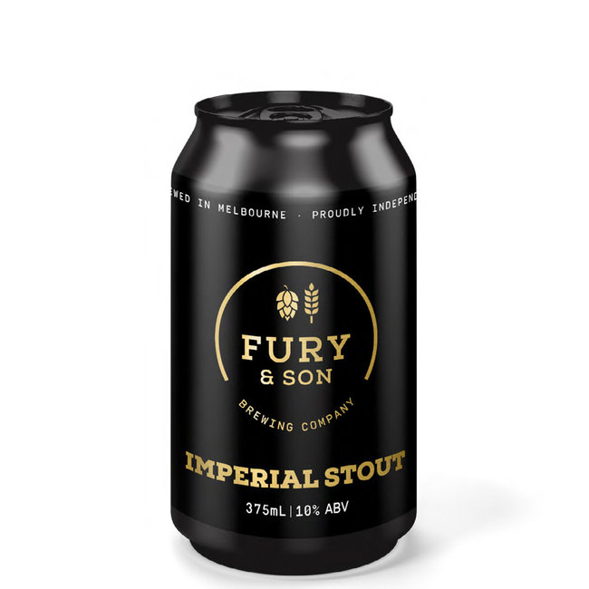 Fury & Son Fury & Son Imperial Stout 375ml Can