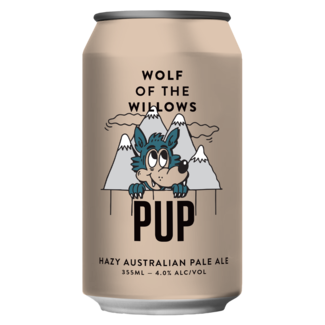 Wolf of the Willows Pup Hazy Australian Pale Ale 355ml Can