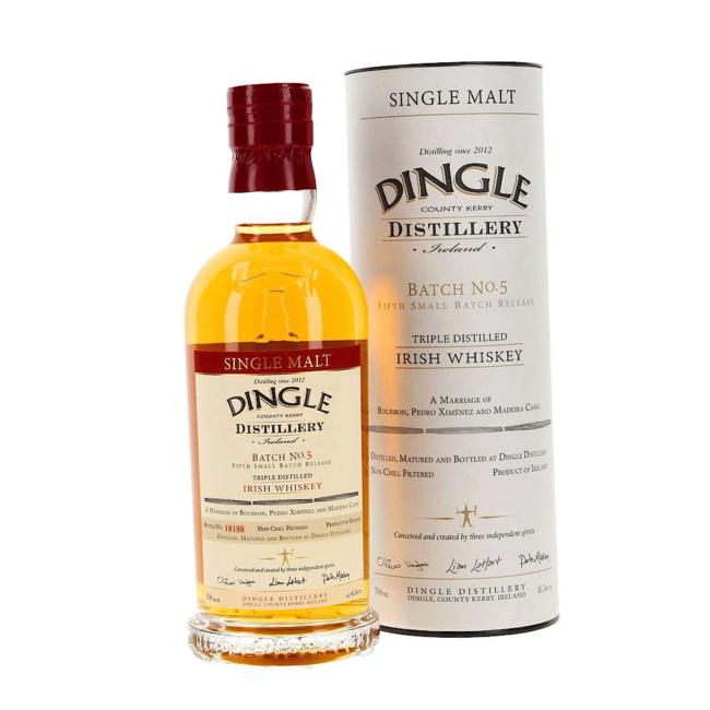 Dingle Single Malt Irish Whiskey Batch #5