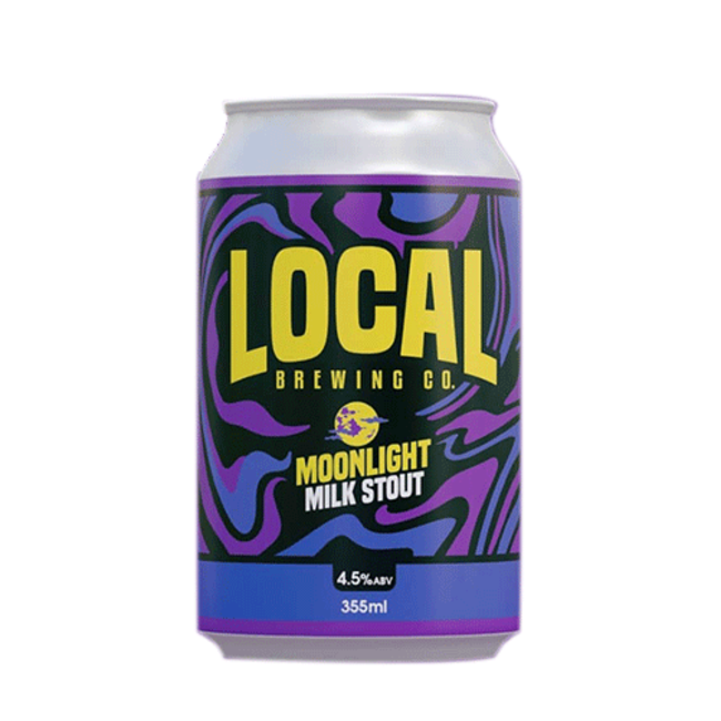Local Brewing Co. Milk Stout 355ml Can