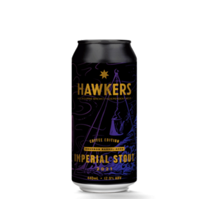 Hawkers Barrel Aged Imperial Stout Coffee 2021 440ml