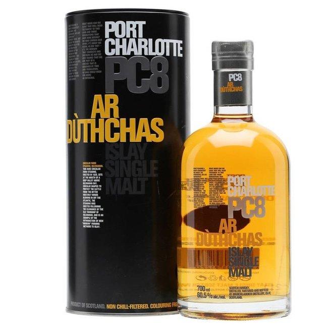 Bruichladdich Bruichladdich Port Charlotte PC8 Single Malt Whisky