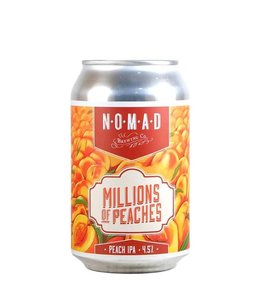 Nomad Nomad Brewing Co Millions of Peaches - Pink Boots Brew Peach IPA 330ml CAN