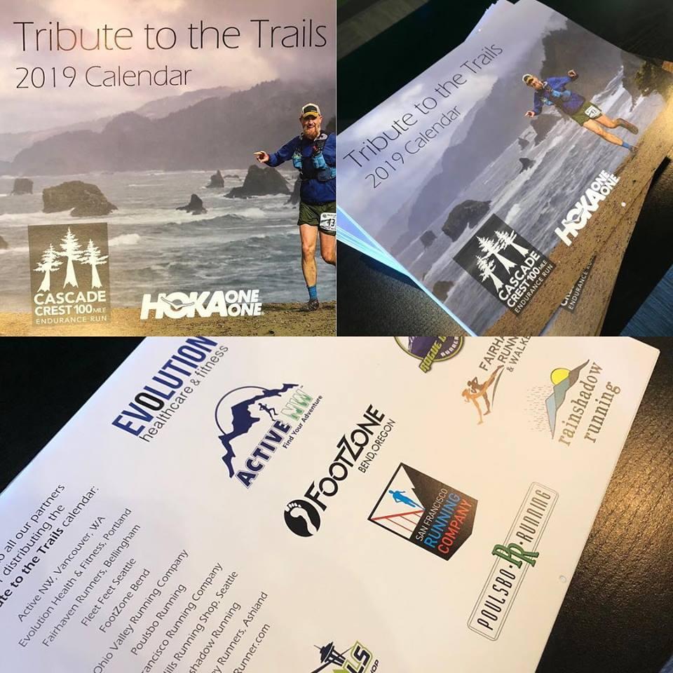 2019 Washington Trails Calendar