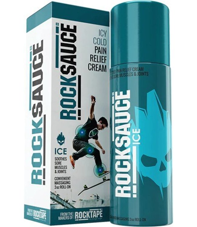 RockTape RockSauce Icy Cold 3oz Roll-on
