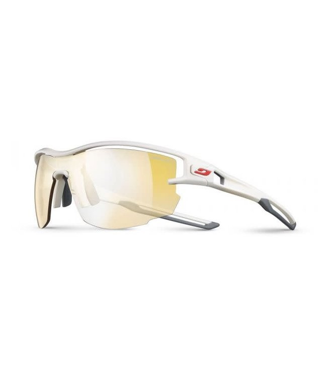 Julbo Julbo AERO Sunglasses REACTIVE Zebra Light Lenes White/Gray