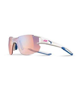 Julbo Julbo AEROLITE Sunglasses REACTIVE Zebra Light Red Lenses White/Blue