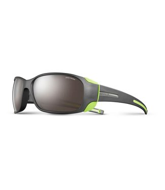 Julbo Julbo MONTEBIANCO sunglasses spectron 4 lenses Matte Black/Lime Green