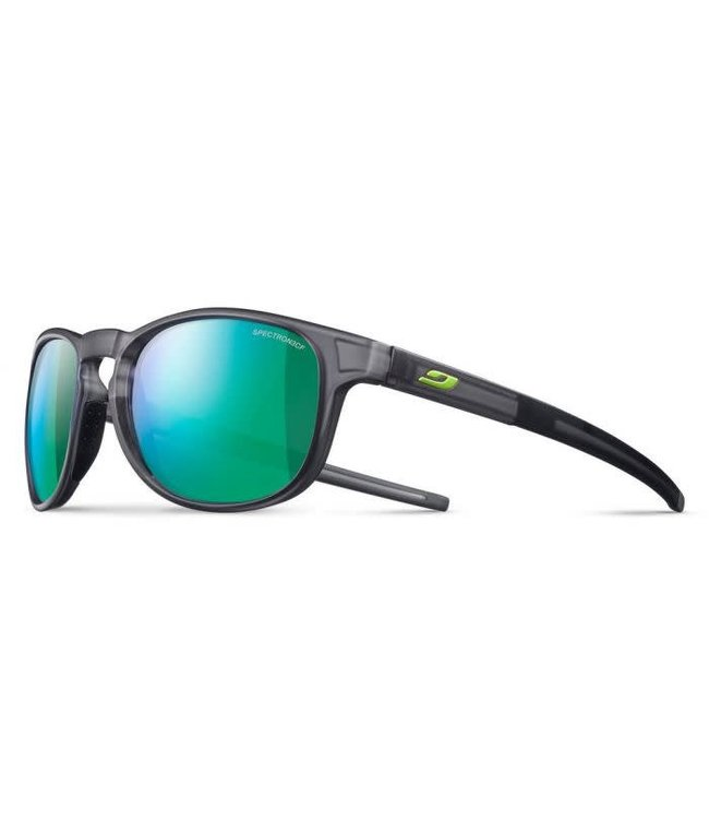 Julbo Julbo RESIST Sunglasses Spectron 3CF Lenses Translucent Black/Green