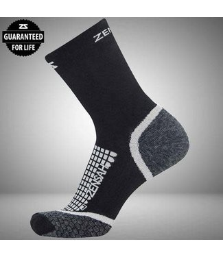Zensah Grit Running Sock Mini Crew